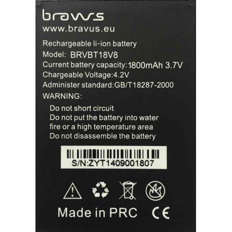 Bateria 2100mAh para Bravus Mini Gorila 2 V6