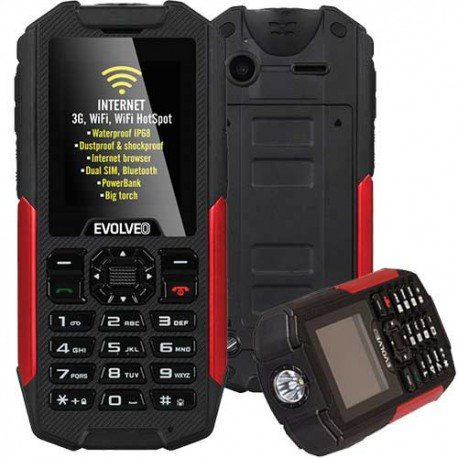 Evolveo StrongPhone X3 movil robusto