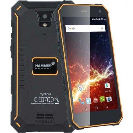 smartphone sumergible hammer energy