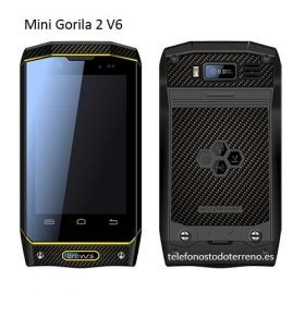 Mini Gorila 2 V6, smartphone todoterreno