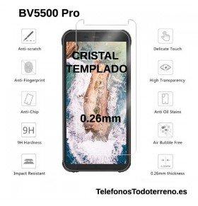 Cristal templado Blackview BV5500 Pro