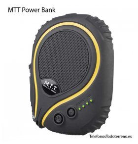 Bateria externa rugerizada y sumergible MTT Power Bank