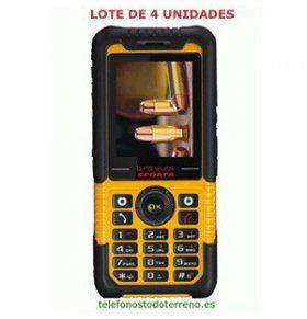 Bravus LM802B telefono todoterreno resistente