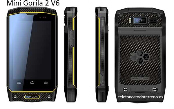 Bravus Mini Gorila 2 V6 Smartphone Todoterreno