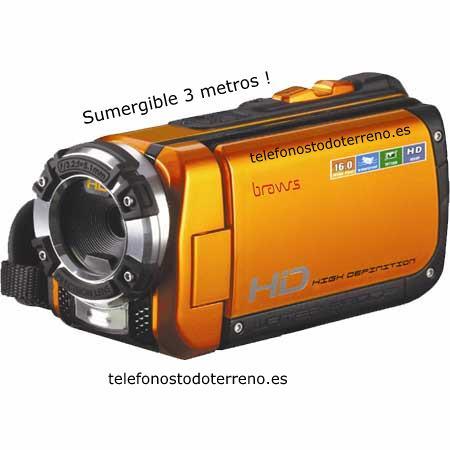 Videocamara sumergible Bravus HDVZ58