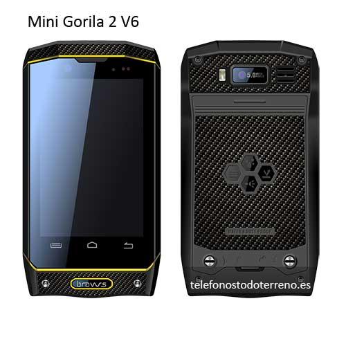 Mini Gorila 2 V6 smartphone todoterreno