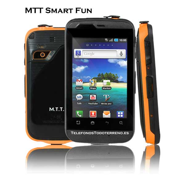 MTT Smart Fun smartphone todoterreno