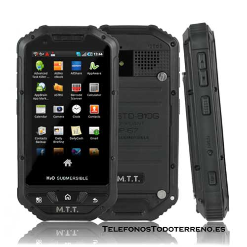 MTT Smart Multimedia smartphone robusto color negro