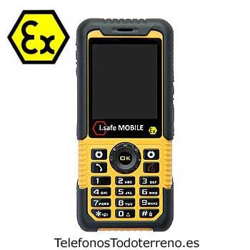 Movil ATEX i.safe Challenger 1.0 telefono antideflagrante ATEX