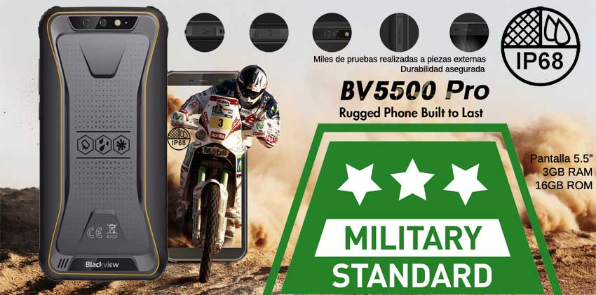 Blackview BV5500 Pro IP68 MIL-STD-810G