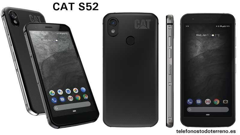 Móvil resistente CAT S52
