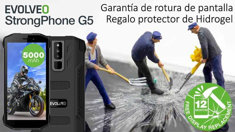 Evolveo SGP-G5 con garantía extendida de rotura de pantalla