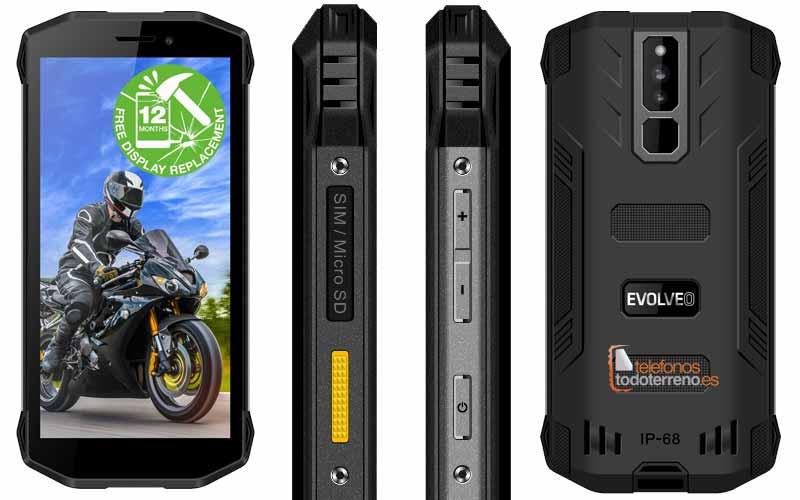 Móvil rugerizado Evolveo StrongPhone G5