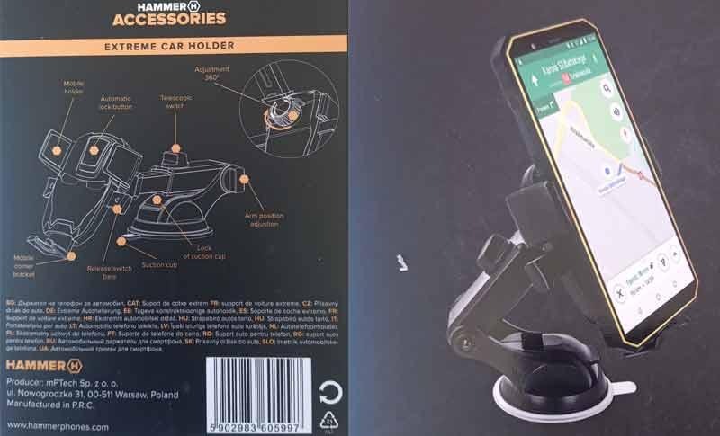 Hammer Car Holder Smartphone
