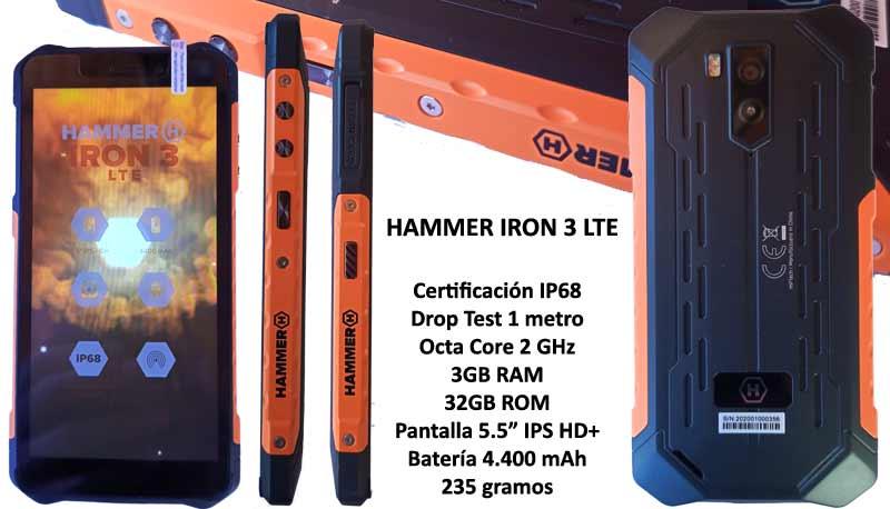 Hammer IRON 3 LTE IP68 Rugged