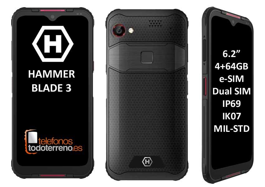 Hammer Blade 3 IP69 IK07 MIL-STD-810G