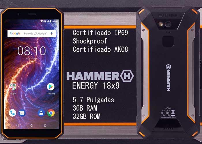 Hammer Energy 18x9 móvil todoterreno