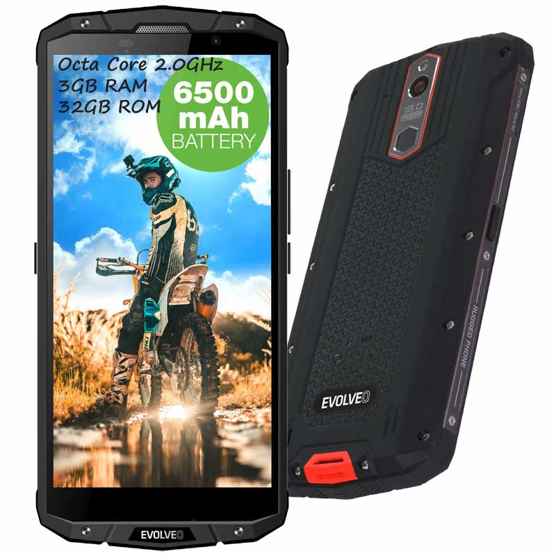 Móvil rugerizado Evolveo StrongPhone G7