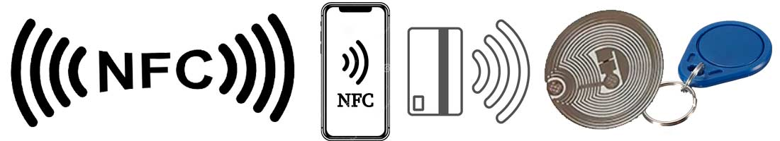 NFC móvil pegatina tarjeta