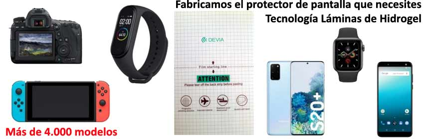 Protege tu pantalla con Hidrogel
