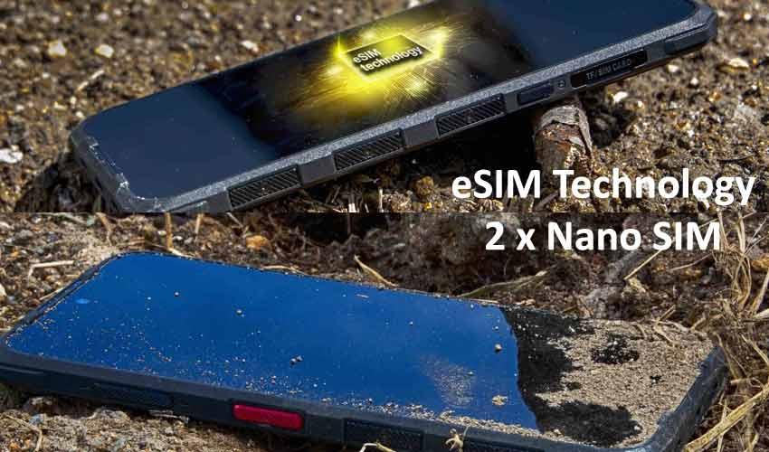 Evolveo StrongPhone G9 con eSIM