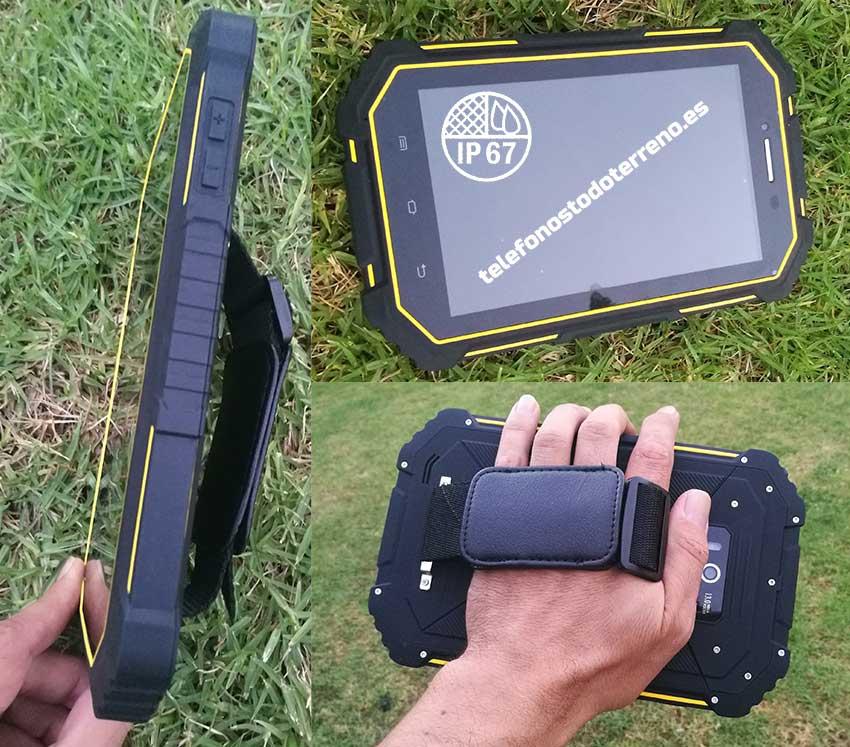 Tablet rugerizada Overmud IP67
