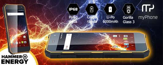 smartphone hammer energy tecnogenia
