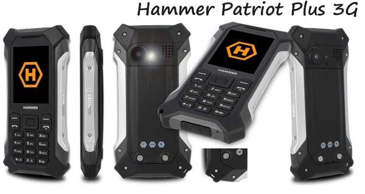 Móvil Hammer Patriot+