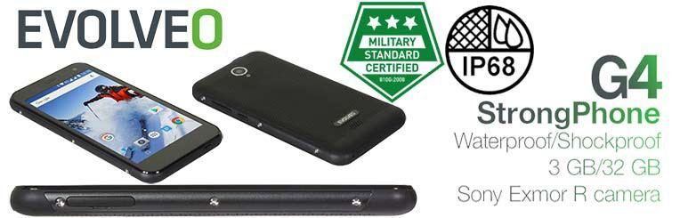 Evolveo StrongPhone G4 elegante y resistente